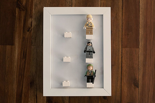 DIY LEGO Minifig Display — All for the Boys
