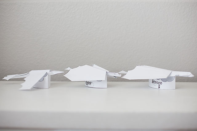 Dragons Meet Paper Airplanes
