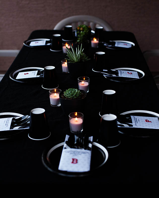 An understated magic #disneyside dinner party from All for the Boys blog