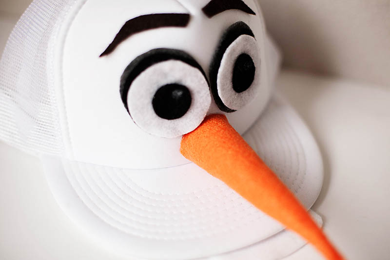 DIY Olaf Hat by All For The Boys