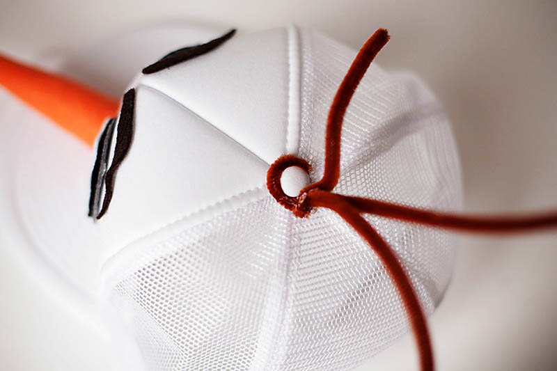 DIY Olaf hat and runDisney costume from All for the Boys blog