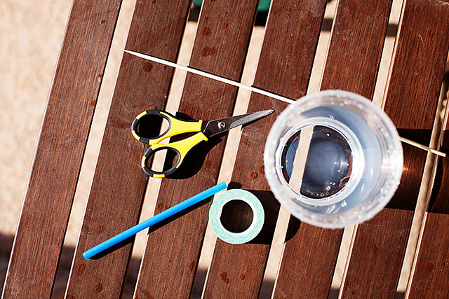 DIY Centrifuge Sprinkler - fun summer activity from All for the Boys blog