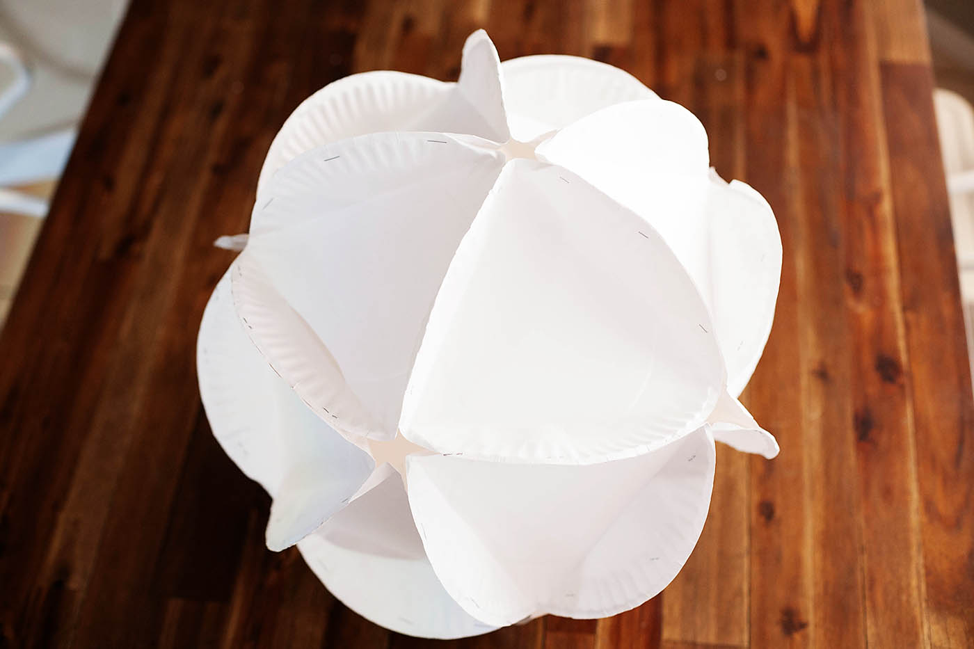DIY Paper Plate Polyhedron - from All for the Boys blog