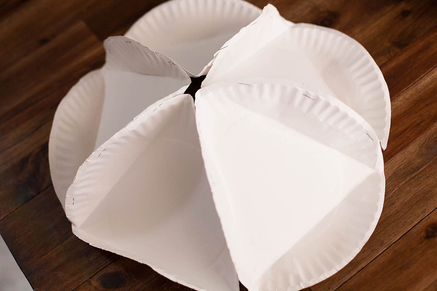 DIY Paper Plate Polyhedron - from All for the Boys blog & Paper Plate Polyhedron u2014 All for the Boys