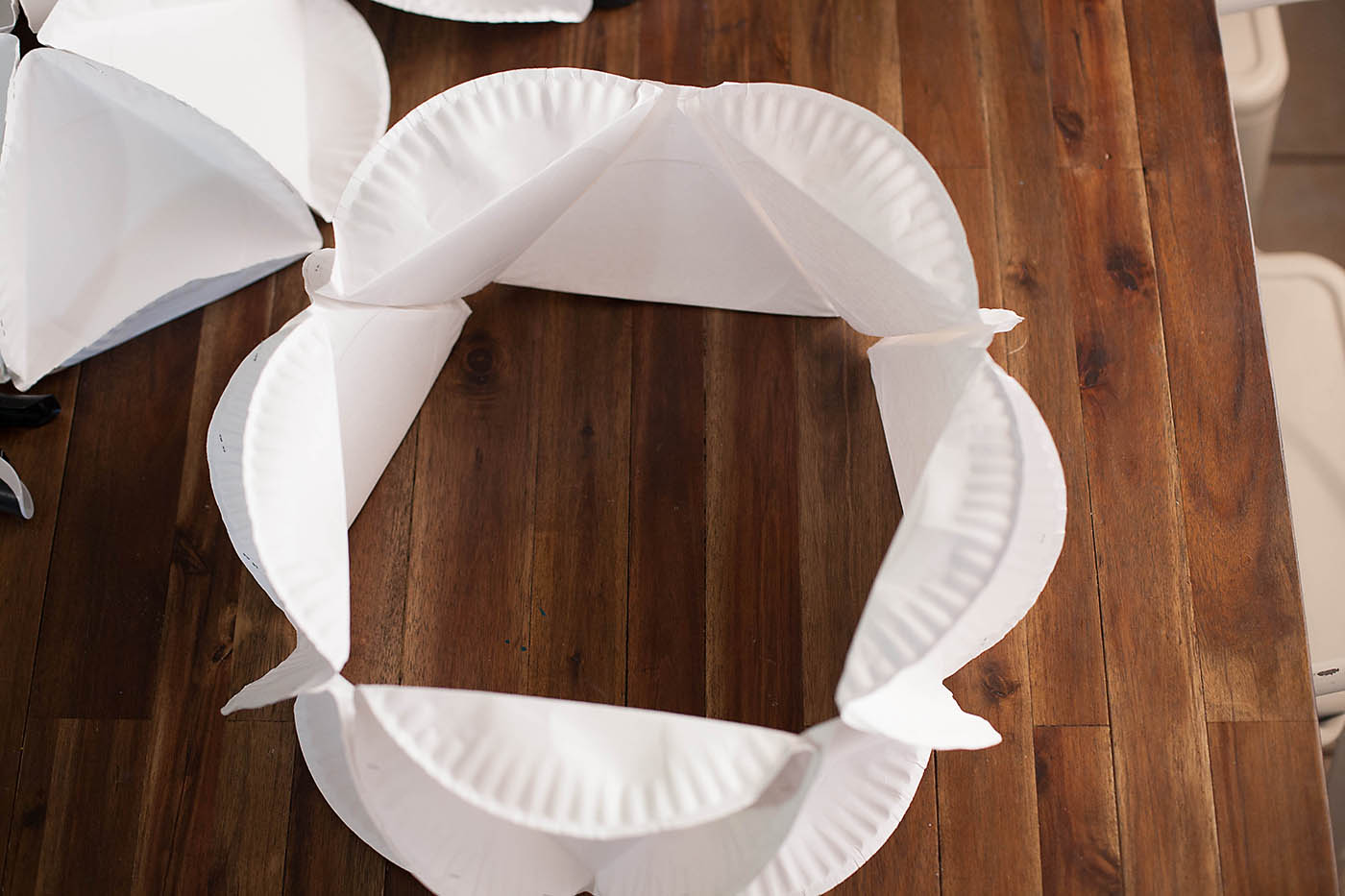 Paper Plate Polyhedron All For The Boys