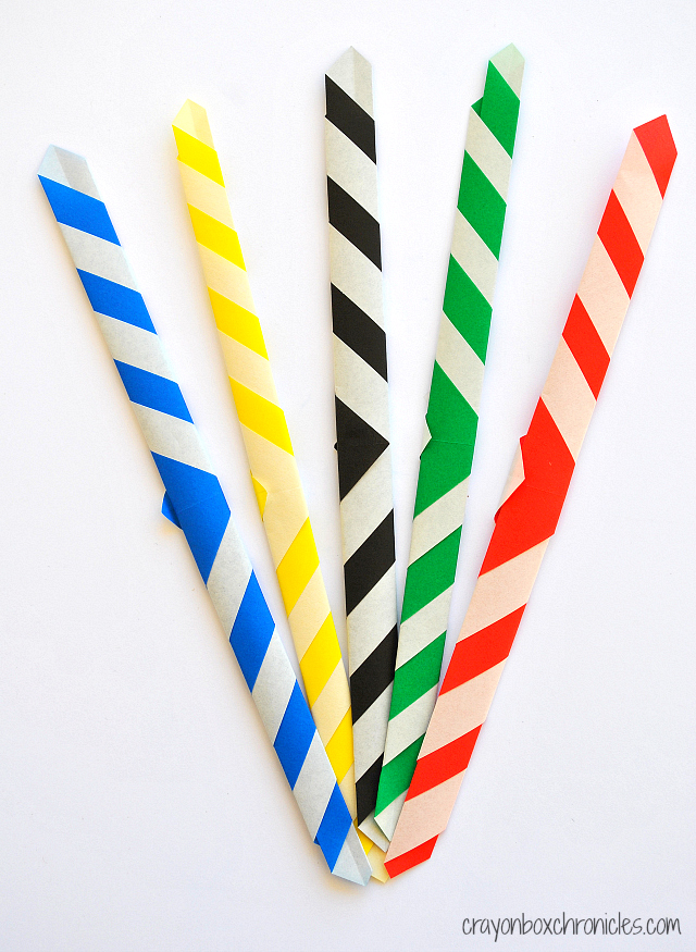 diy olympic origami bracelets � all for the boys