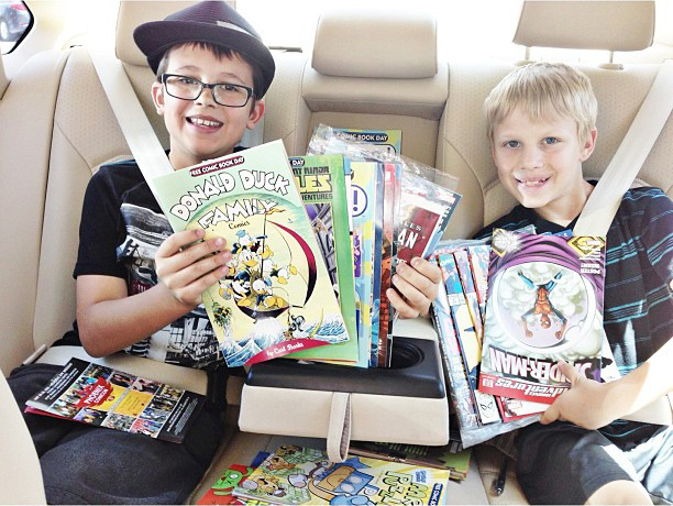 Free Comic Book Day May 3, 2014