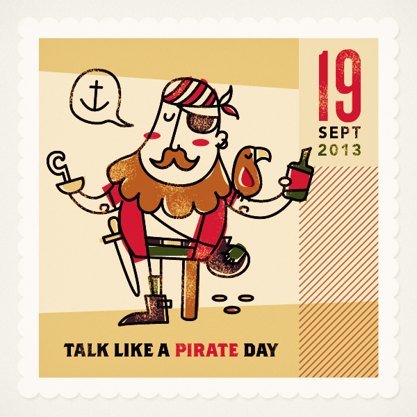 International Talk Like a Pirate Day ITLAPD September 19 is a parodic holiday created in 1995 by John Baur Ol Chumbucket and Mark Summers Capn Slappy of