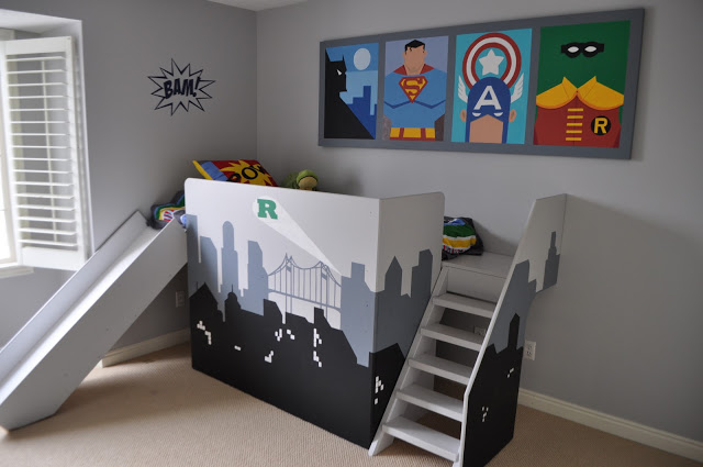 SUPERHERO BEDROOM!