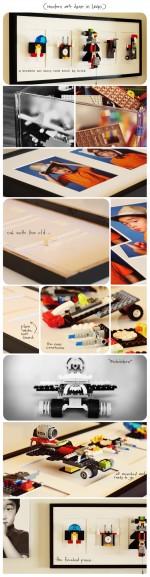 DISPLAY LEGO CREATIONS AS ART