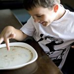 Is pepper afraid of soap? Fun surface tension science experiment for kids