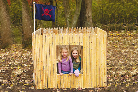 FORT FRIDAY + SHOW AND TELL