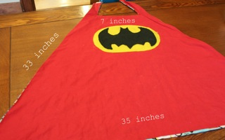 Diy cape christie at storehouse crafts all for the boys cape with measurements pronofoot35fo Image collections