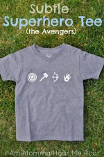 DIY SUPERHERO SHIRT