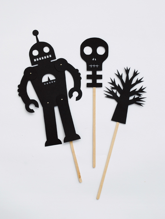 photo about Printable Shadow Puppets named Shadow Puppets All for the Boys
