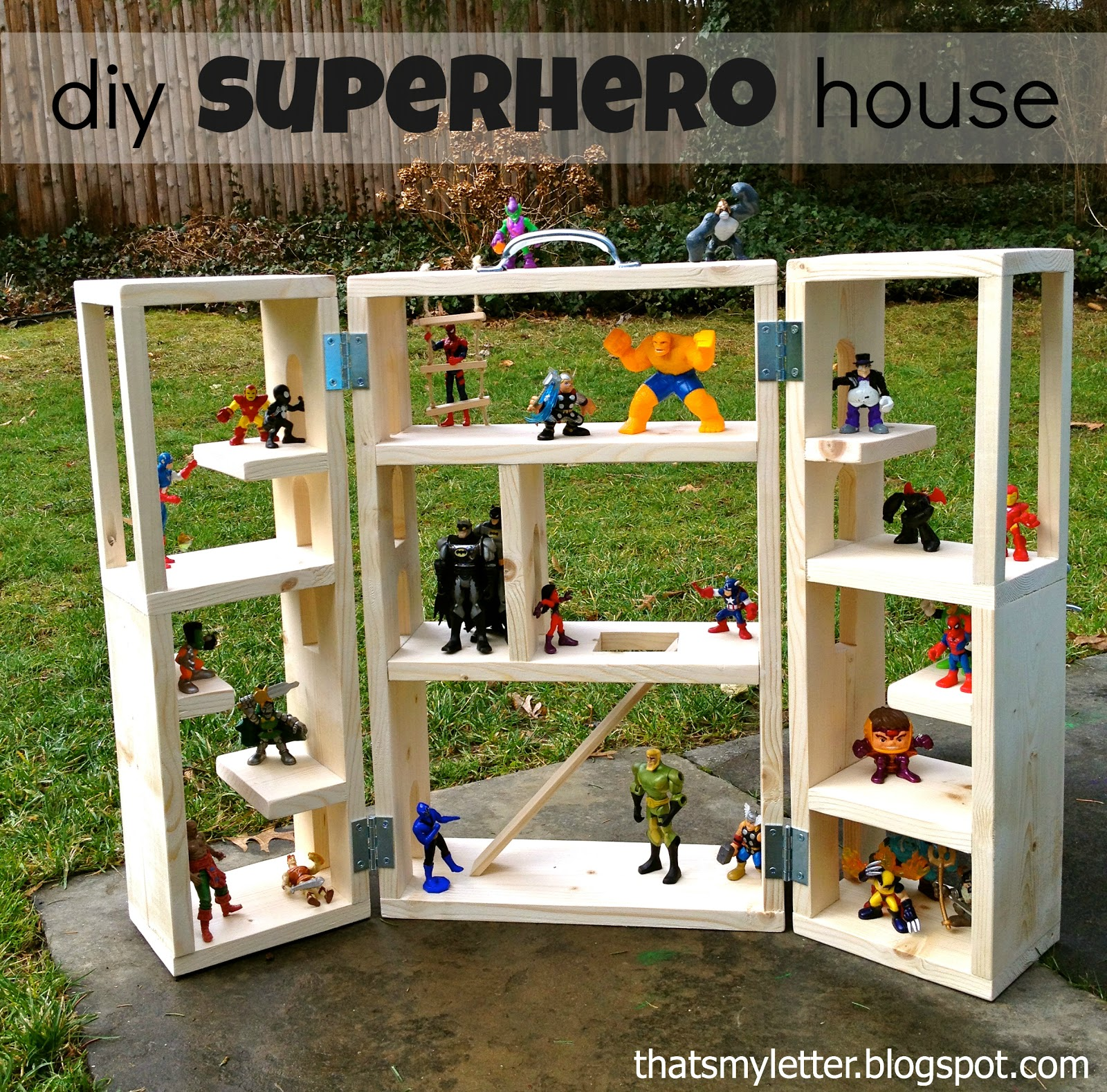 Playing house diy kid - Diy Superhero House
