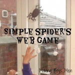 Spider Web Game from Making Boys Men