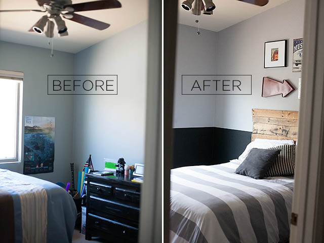 two color bedroom tween boy room reveal with glidden all for the boys 13676