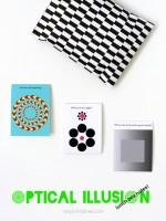SUPER cool Optical Illusion Lunch Box Notes