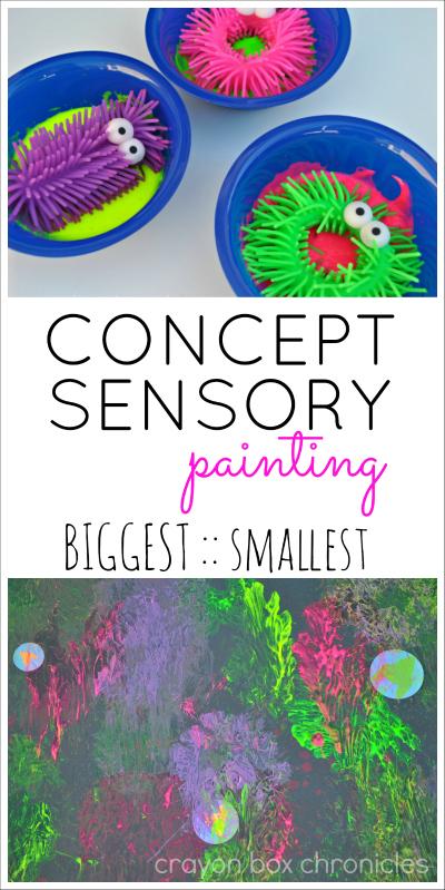 Concept Sensory Painting