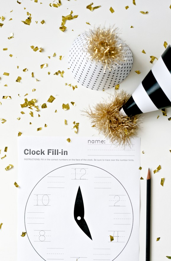 New Year\'s Eve Printables — All for the Boys