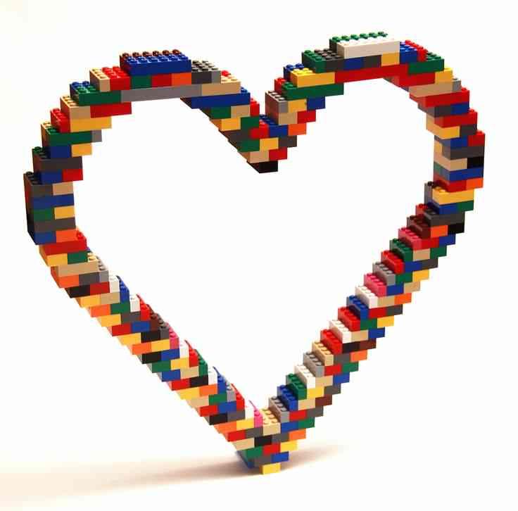 LEGO hearts