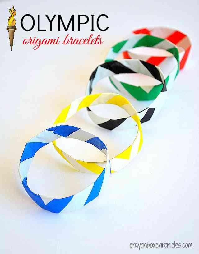 Olympic Origami Bracelets Cbc