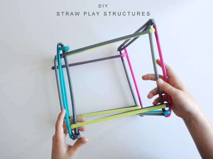 Building with Plastic Straws