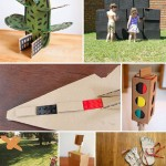 More ideas for using cardboard!