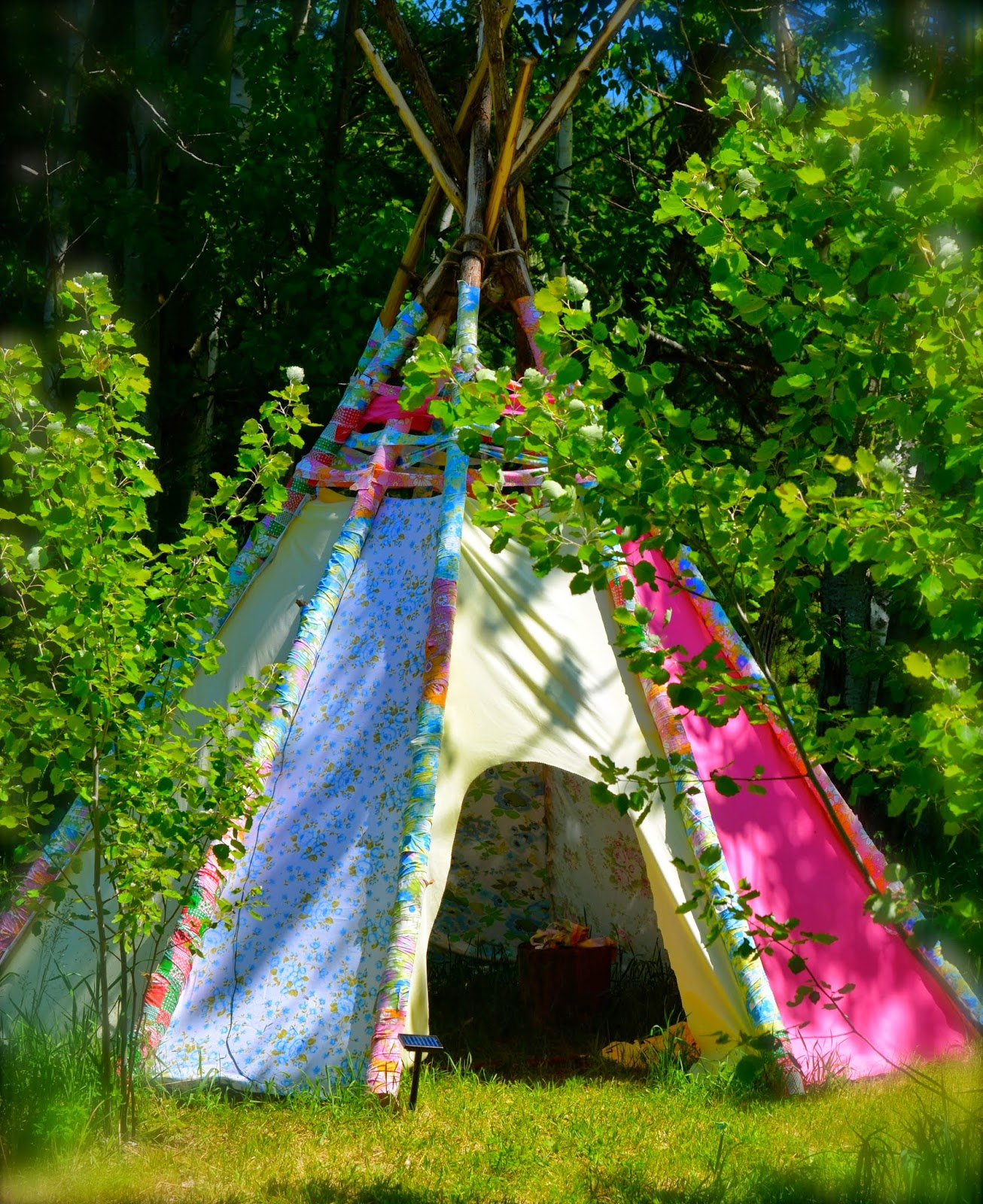 Recycled Teepee
