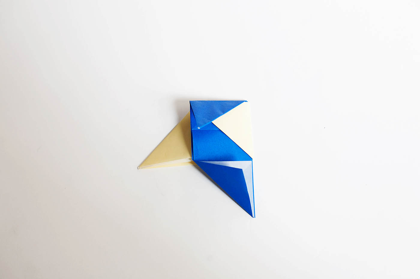 Origami Toothpick Spinning Top All For The Boys