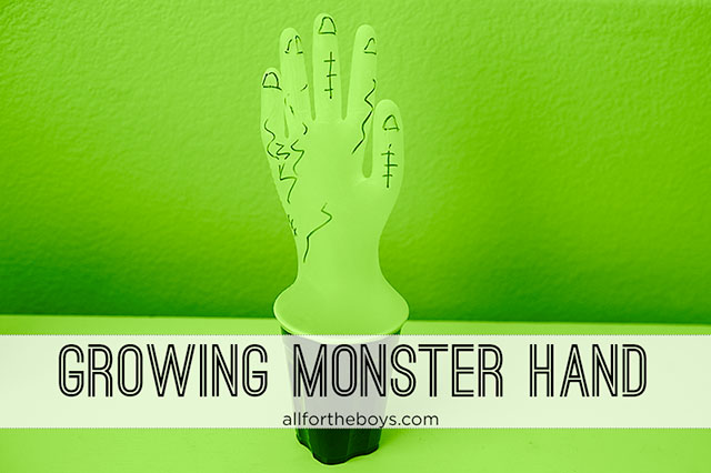 Growing Monster Hand