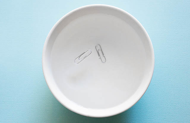 floating paperclip