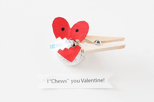 I Chews You Valentine Craft  All For The Boys