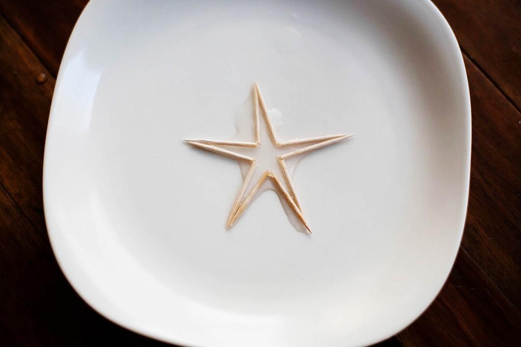 Magic Toothpick Star