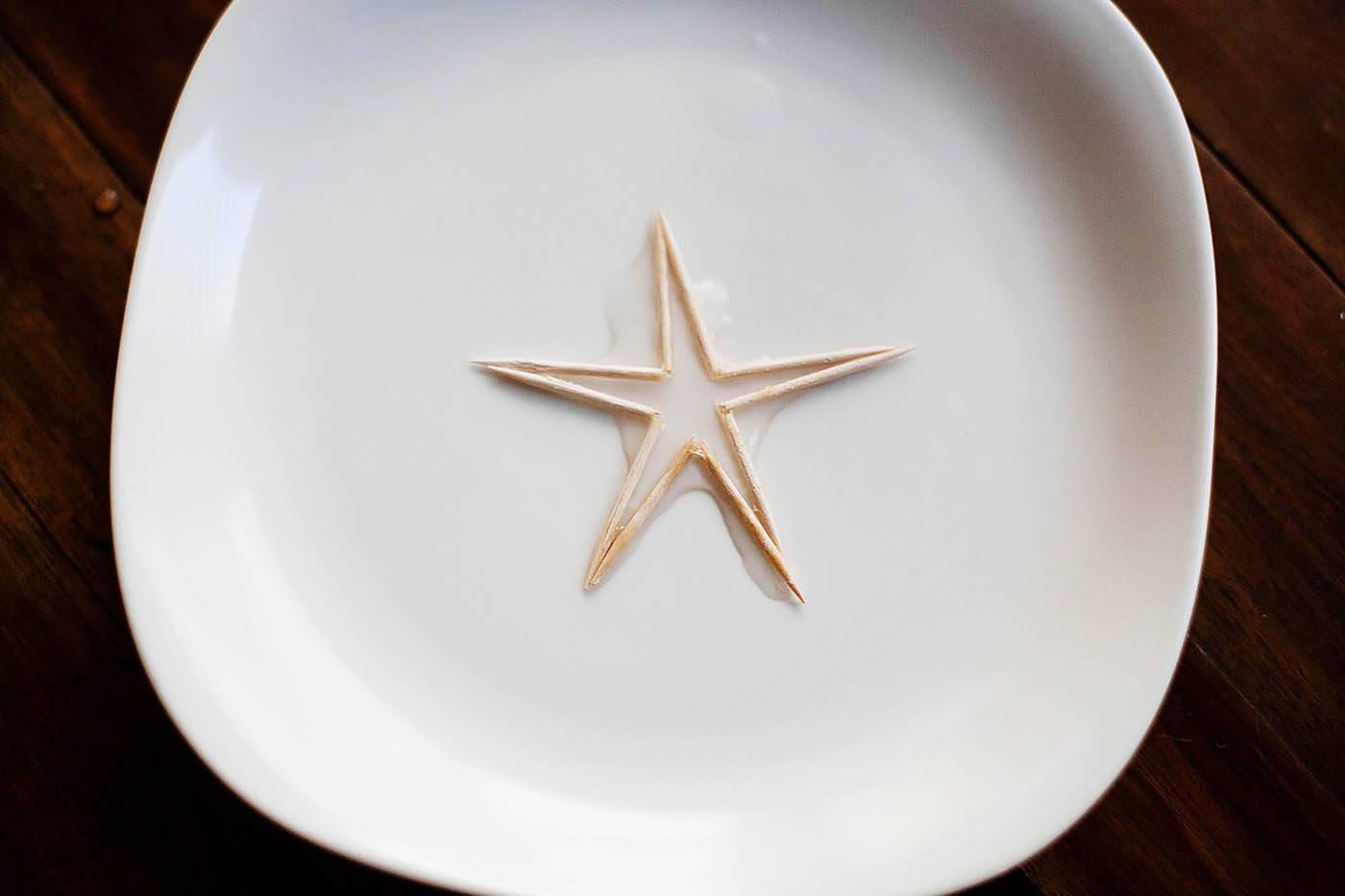 Magic Toothpick Star