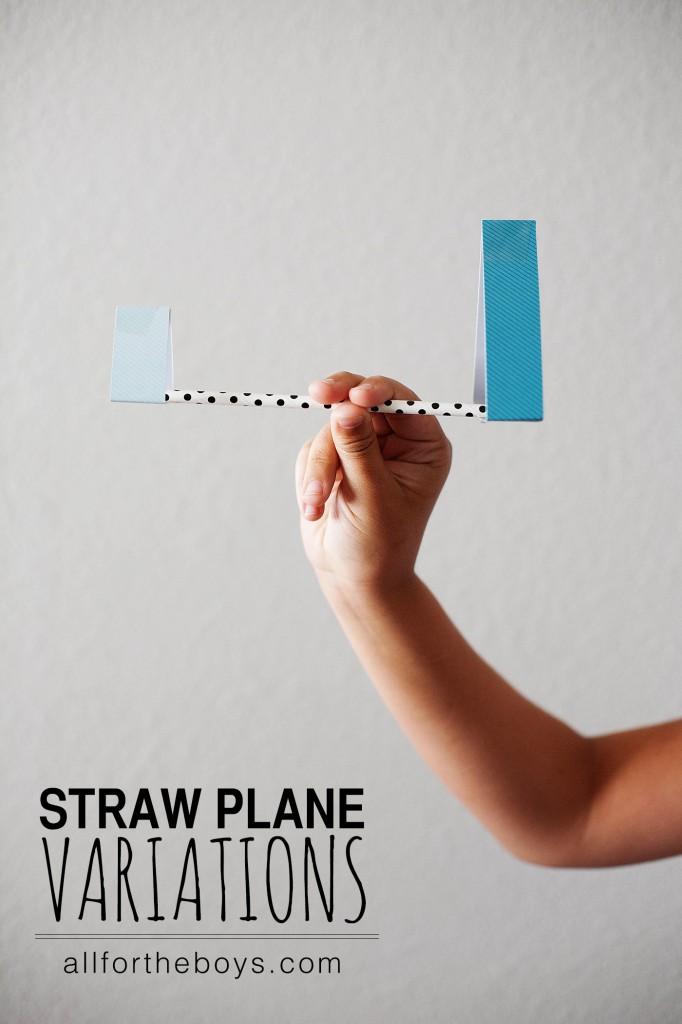 Straw Plane Variations