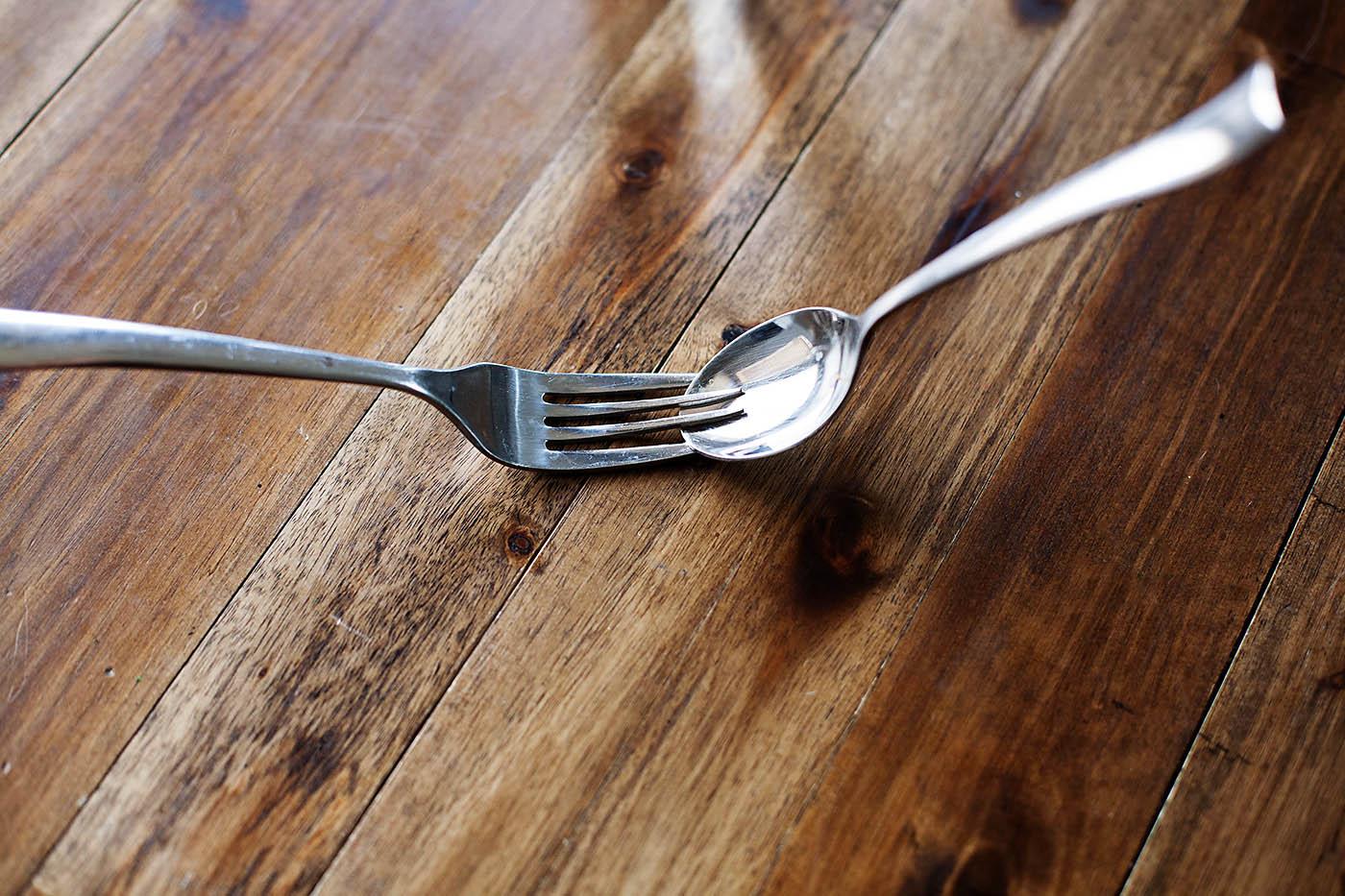Toothpick balance trick
