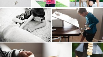 10 ideas for kids using cardboard