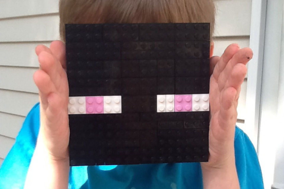 Enderman mask