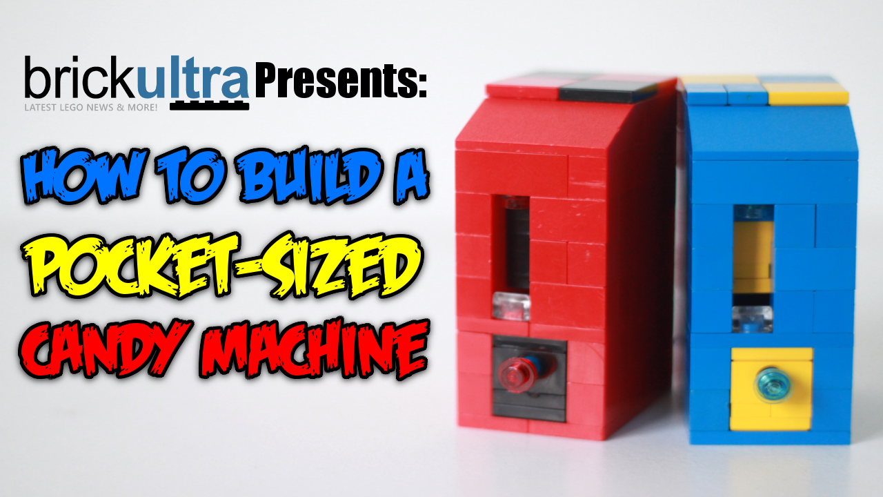 Lego Working Candy Machine All For The Boys