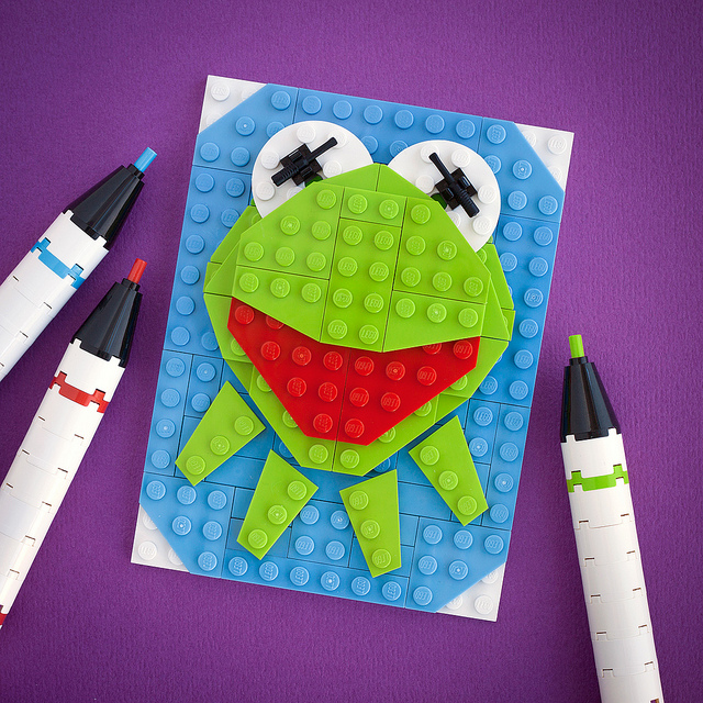 Kermit Pixel Art All For The Boys
