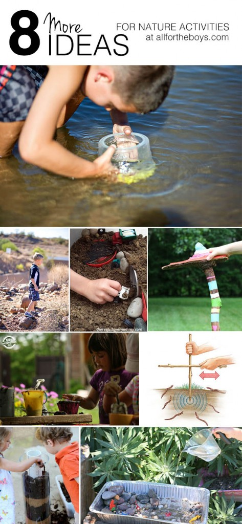 8 More Ideas for Nature Activities