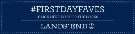 Lands' End first day faves pop-up shop!