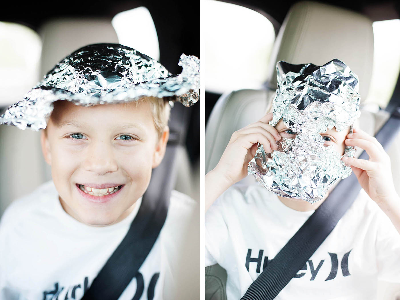 Play with foil