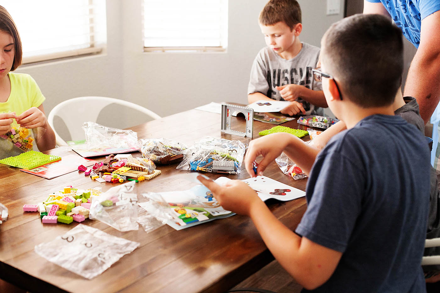 LEGO JUNIORS perfect for younger builders