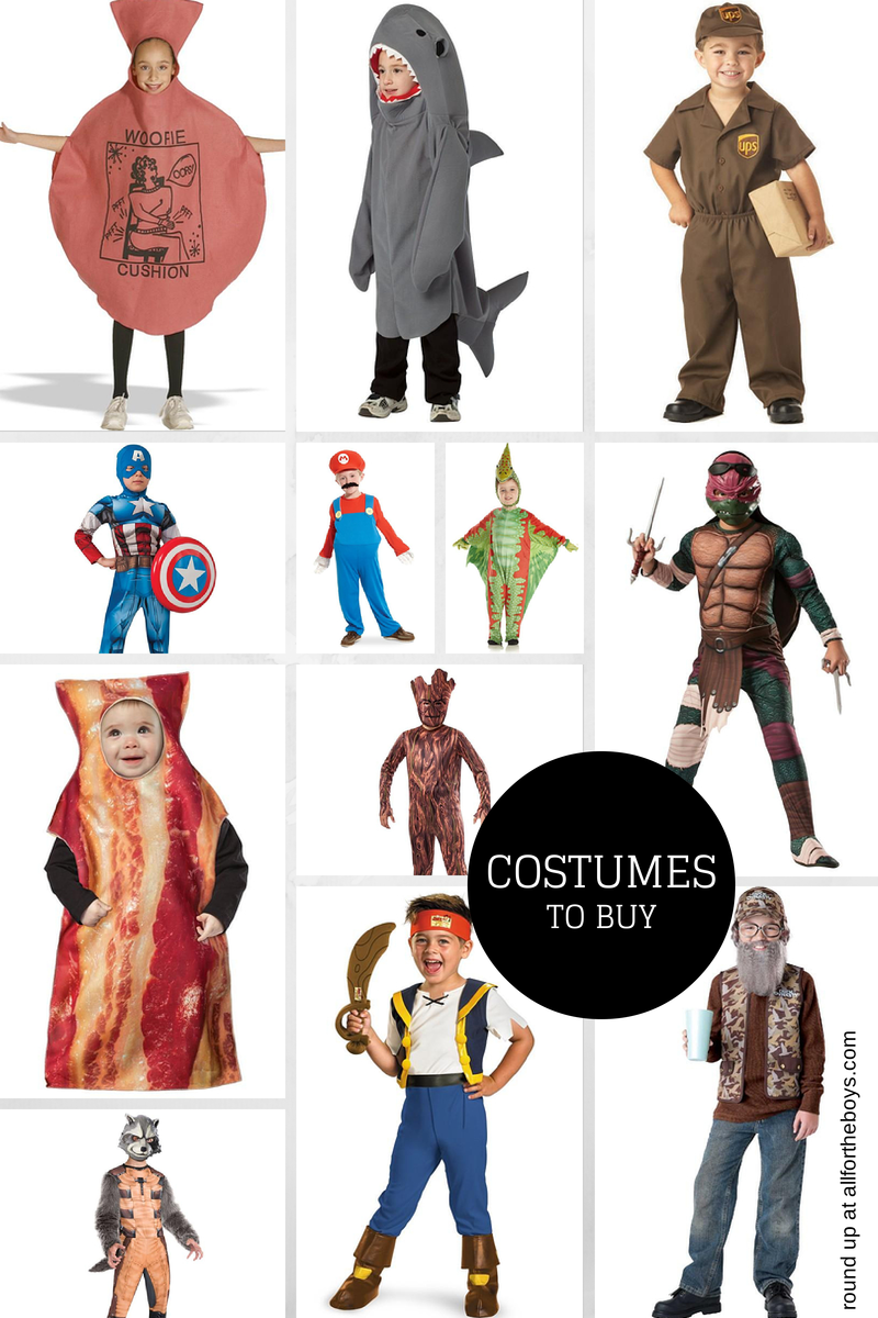 Costume ideas you can buy