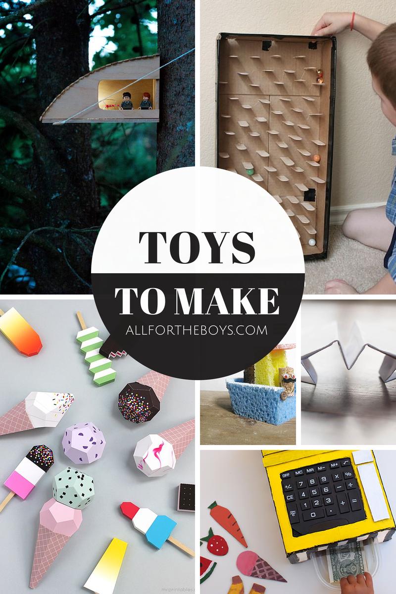 Toys to make