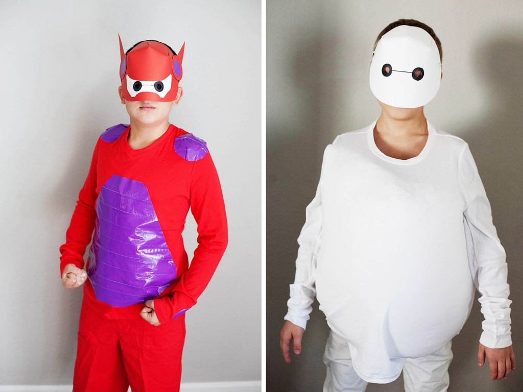 DIY Baymax Costume (from Big Hero 6)