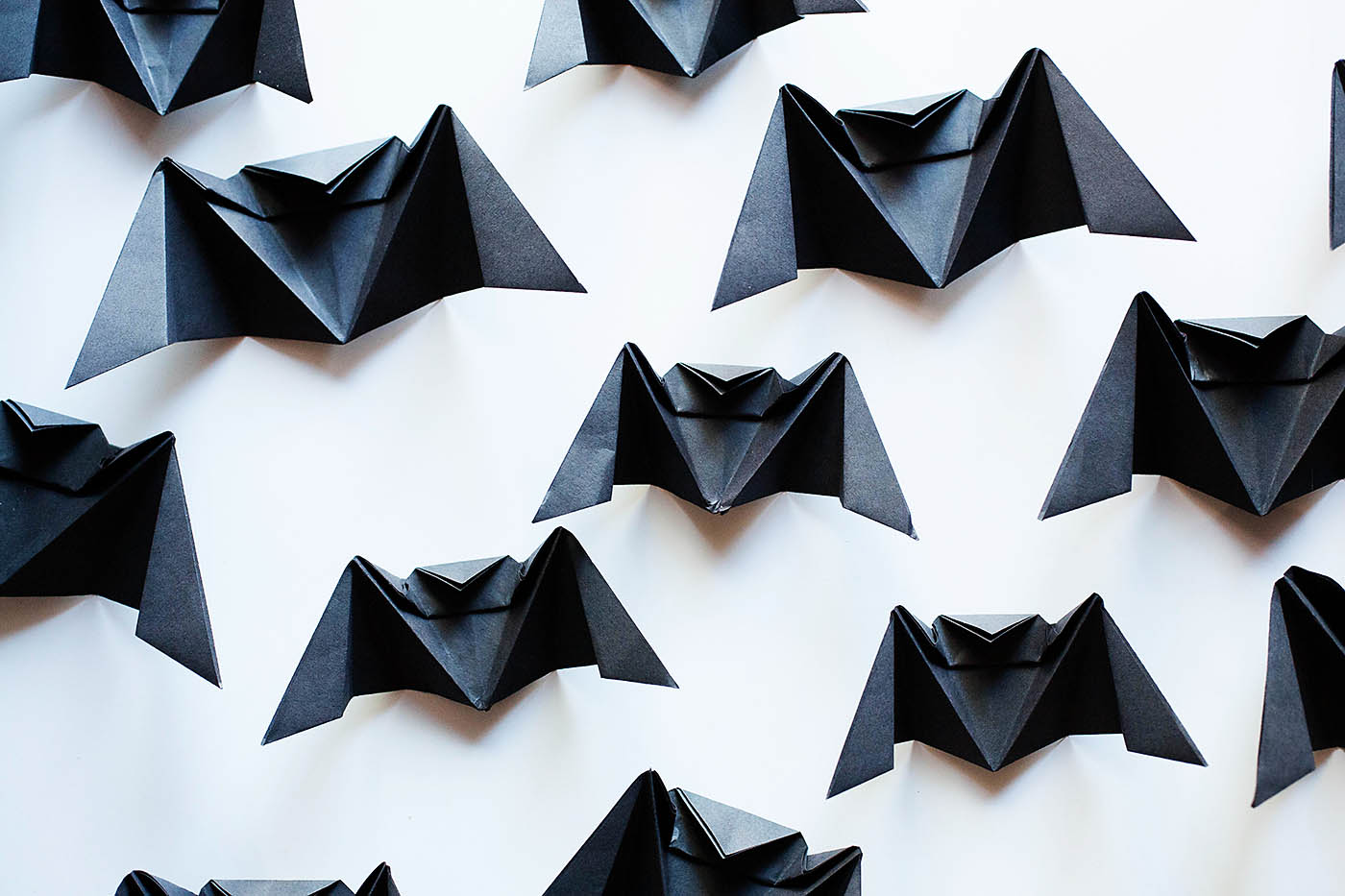 origami bat chandelier � all for the boys